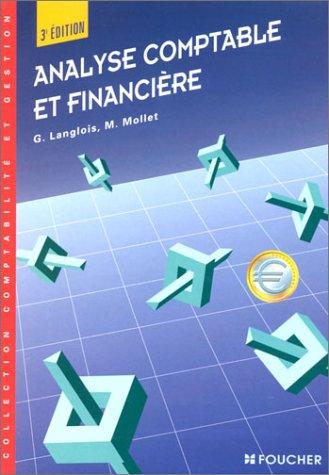 Analyse comptable et financière, 3e édition