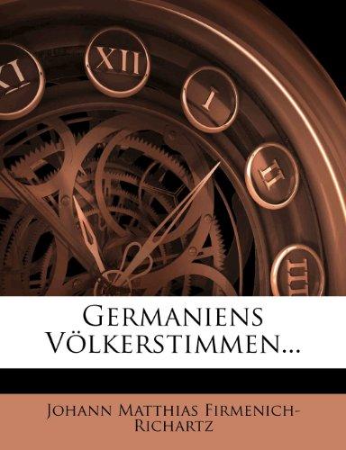 Germaniens Volkerstimmen.