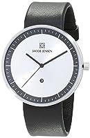 Jacob Jensen–Reloj de pulsera analógico de cuarzo (One Size, Plata) de Jacob Jensen