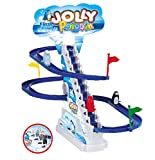 Liberty Imports Penguin Race Slide Running Go with Sounds