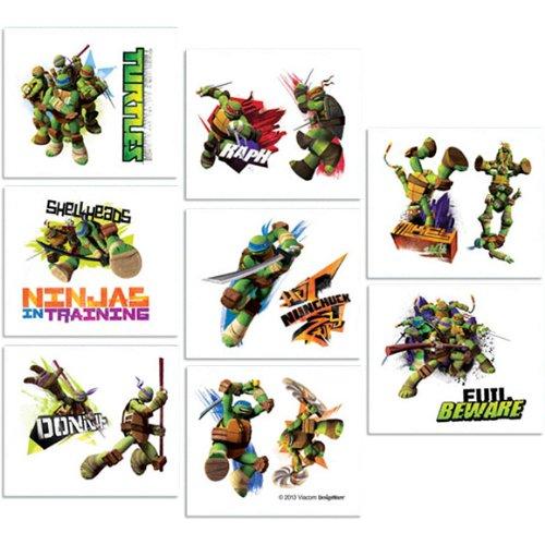 Turtles 18 Stk Haut Tattoos - Teenage Mutant Ninja Turtles