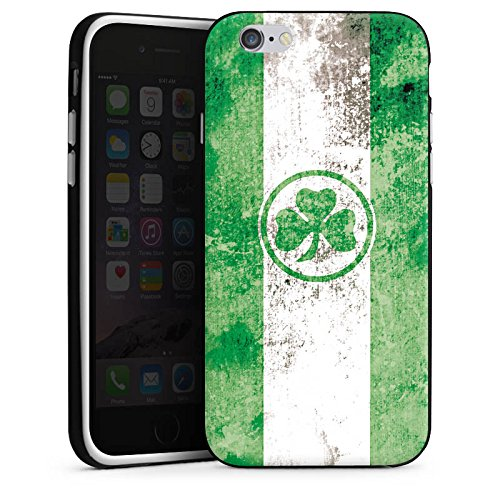 Apple iPhone X Silikon Hülle Case Schutzhülle SpVgg Greuther Fürth Fanartikel Bundesliga Silikon Case schwarz / weiß