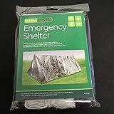 Lorenlli Tente jetable de tube de secours de tente de secours de Mylar d'abri ultra-léger extérieur de camping jetable de tente d'abri de secours