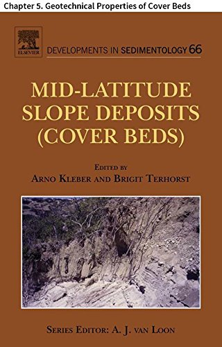 Mid-Latitude Slope Deposits (Cover Beds): Chapter 5. Geotechnical Properties of Cover Beds (Developments in Sedimentology)