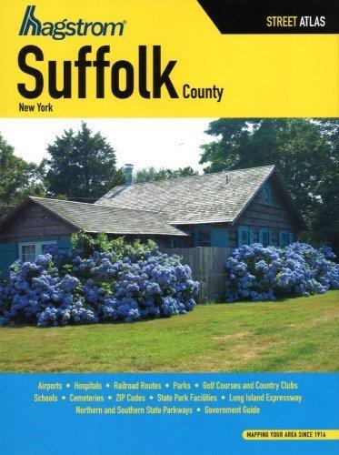 Hagstrom Suffolk County, New York Street Atlas (2009-02-01)