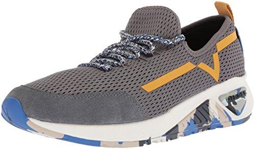 Diesel Uomo, SKB S Kby, Tessuto tecnico, Sneakers, Bianco Castlerock