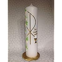 Kerze zur Konfirmation, Kommunion, Firmung