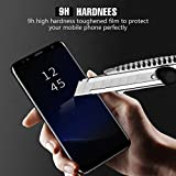 LIAOINTEC S8 Screen Protector, Full Cover (3D Curved) Tempered Glass Screen Protector for Samsung Galaxy S8(2 Pack)