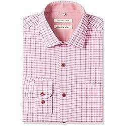 Excalibur Men's Formal Shirt (8907542558704_400016479737_42_Pink)