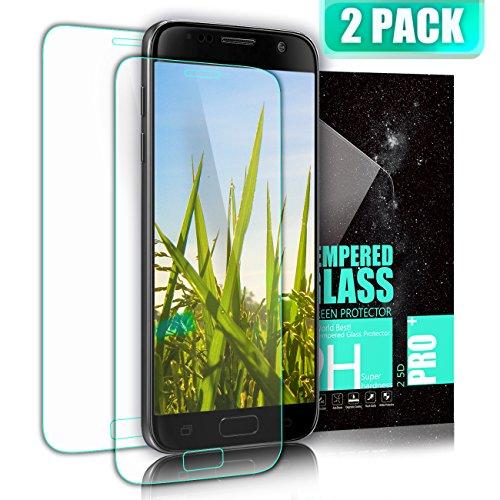 SGIN Vetro Temperato Galaxy S7, [2 Pack] 3D Copertura Completa Pellicola Protettiva Alta Definizione, Anti-graffio, a prova di polvere, Anti-impronte, Ultra-Clear Screen per Samsung Galaxy S7 - Transparent