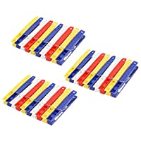 30 Plastic Assorted Coloured Jumbo clothes pegs (ideal for Cloth Stand / Airer Washing Drying Cloths Laundry)