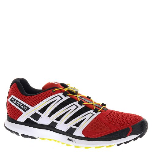 Salomon X-Scream 3D Herren Traillaufschuhe Rot (Quick/Black/Canary Yellow)