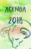 Agenda Settimanale 2018 verde toro: Weekly Planner in italiano del 2018, da borsa, 12 mesi, 52 settimane