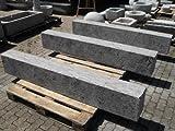 Der Naturstein Garten Stele aus grauem Kalkstein 200 x 30 x 20 cm - Tor Säule