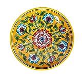 #9: Ceramic Plates Wall Decor Diwali Decoration Items For Home 6 X 1.3 Inch