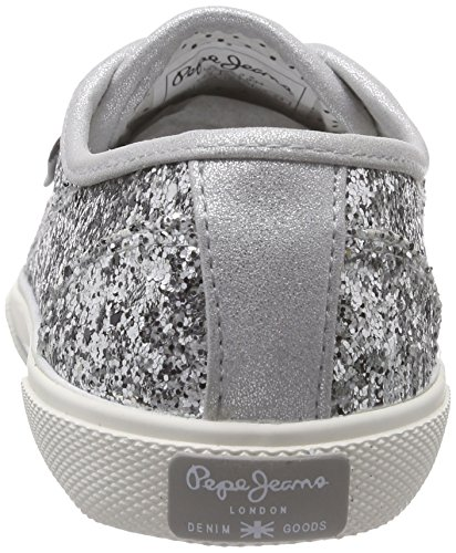 Pepe Jeans ABERLADY GLITTER PARTY Sneakers Donna Argento (934SILVER)
