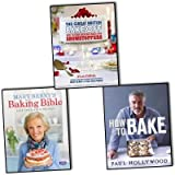 British Baking 3 Books Collection Pack Set RRP: £65 (The Great British Bake Off: How to turn everyday bakes into showstoppers, Mary Berry's Baking Bible: Over 250 Classic Recipes, How to Bake)