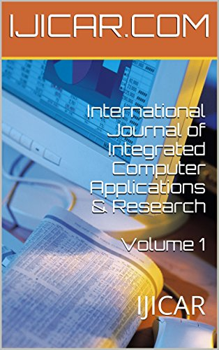 International Journal of Integrated Computer Applications & Research  Volume 1: IJICAR (English Edition) - Computer Credit Card Processing