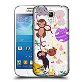 Head Case Designs Affen Weihnachten Im Weltraum Ruckseite Hülle für Samsung Galaxy S4 Mini I9190