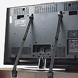FREESOO Cinghie Anti-Caduta, Cintura di Sicurezza Fissare per la TV Armadio Mobili 2 Pezzi