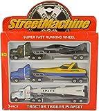 #6: Toys N Smile Tractor Trailer Die Cast Free Wheels Metal Trucks