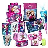 Disney Frozen EISKÖNIGIN 17 TLG. Set Schulranzen RANZEN SCHULTÜTE