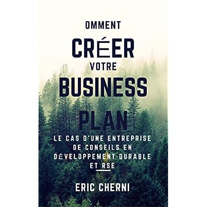 Comment créer un Business Plan pour le présenter à des investisseurs?: Le cas d'une entreprise de conseil en développement durable et RSE.