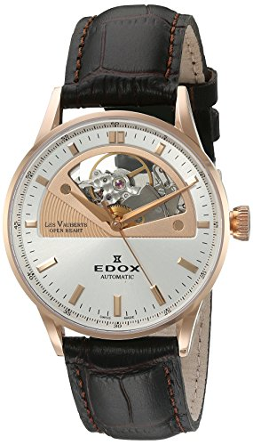 Edox Les Vauberts Damenuhr Open Heart 85019 37RA AIR