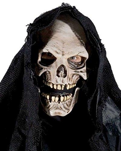 Gevatter Tod - Grim Reaper Fetzen Maske für (Reaper Maske)