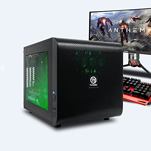 GameMachines Cube - Gaming PC - Intel Core i7 8700 - NVIDIA GeForce GTX 1080 - RGB Beleuchtung - 250GB SSD - 2TB Festplatte - 16GB DDR4 - WLAN - Windows 10 Pro
