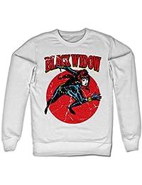 Marvels Black Widow Sweatshirt (Blanc)
