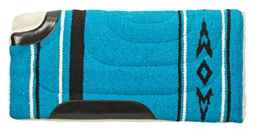 Weaver Leder 35-1669-p1Acryl Pony Sattel Pad, Blau, 63,5x 66cm