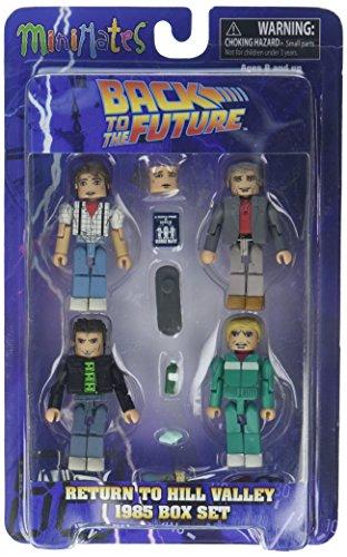 Diamond Select Zurück in die Zukunft 30. Jahrestag Minimates 1985Box Set (Zukunft-zubehör Zurück Die In)