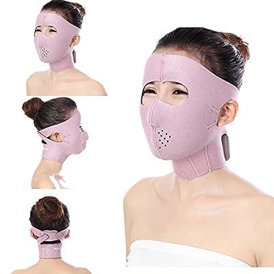 Bureze Full Face Slimming Cheek Mask Lift V Face Line Slim Up Belt Anti Wrinkle from Bureze
