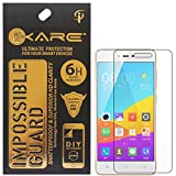 Gionee F103 Pro Screen Protector, iKare Impossible Fiber Tempered Glass Screen Protector for Gionee F103 Pro (REUSABLE, ULTRA CLEAR, REAL SHOCK PROOF,