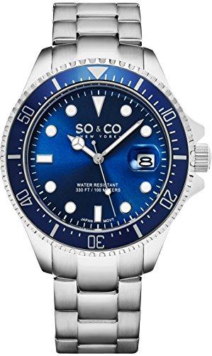SO & CO New York Herren-Armbanduhr 5347.2