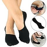 Bambus Füsslinge - Damen und Herren - Sneaker - Kurze Socken - 6 Paar (35-38, Weiß)
