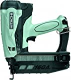 Best Nail Guns - Hitachi NT65GS Cordless Gas Finish Nailer for straight Review