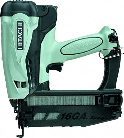Hitachi NT65GS Cordless Gas Finish Nailer for straight
