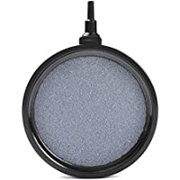 ATPWONZ Acuario Aire Piedra - Burbuja Piedra Pescado Tanque Estanque Bomba Difusor Placa para Hidropónico Placa de Oxígeno Estanque (10.7 x 2 cm)