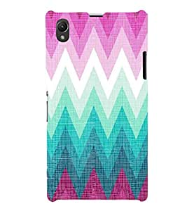 EPICCASE triangle case Mobile Back Case Cover For Sony Xperia Z1 (Designer Case)