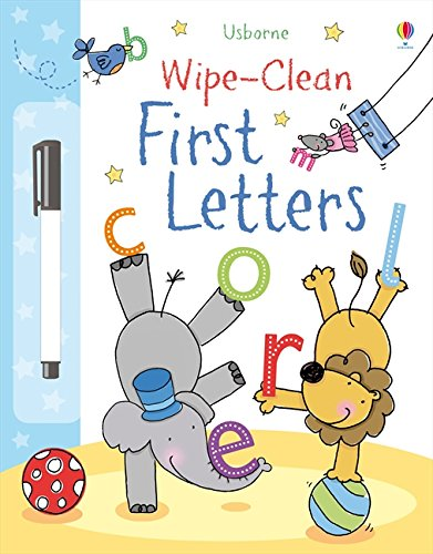 Wipe-Clean First Letters (Wipe-clean Books) por Felicity Brooks