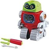 PlayGo - Set montaje robots y coche (ColorBaby 44297)