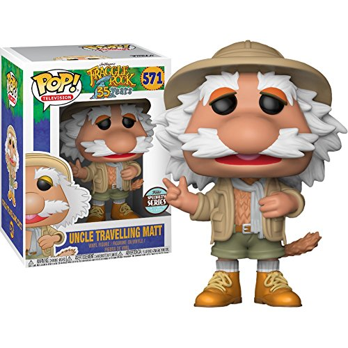 Funko-Pop-Specialty-Series-Fraggle-Rock-To-Matt-que-viaja-figura-de-vinilo