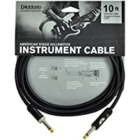 Planet Waves PW-AMSK-10 3 m American Stage Kill Switch Instrument Cable