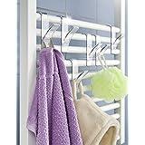 Wenko Chauffage pour salle de bains 6crochets pour serviettes