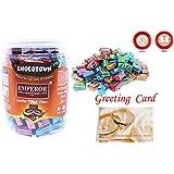 Chocotown Emperor   Center Filled Choco   Chocolate Jar   Greeting Card (6)