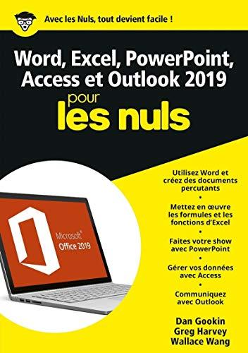 Word, Excel, PowerPoint, Access et Outlook 2019 Mégapoche Pour les Nuls par Ken COOK