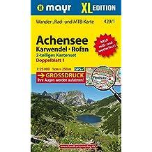 Achensee - Karwendel - Rofan XL (2-Karten-Set): Wander-, Rad- und Mountainbikekarte. GPS-genau. 1:25000 (Mayr Wanderkarten)