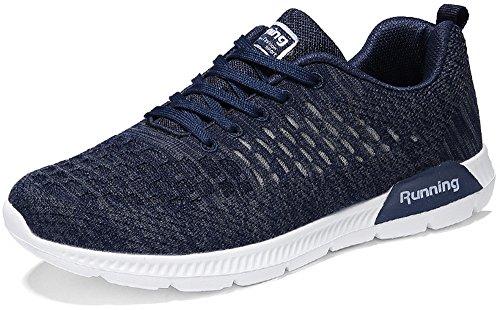 52dc002d6ca526 PORTANT Männer Freizeitschuhe Frühling Laufschuhe Turnschuhe Leicht  Atmungsaktive Mesh Joggingschuhe Sportschuhe Schnüren Sportlich Sneakers  Billige Schuhe